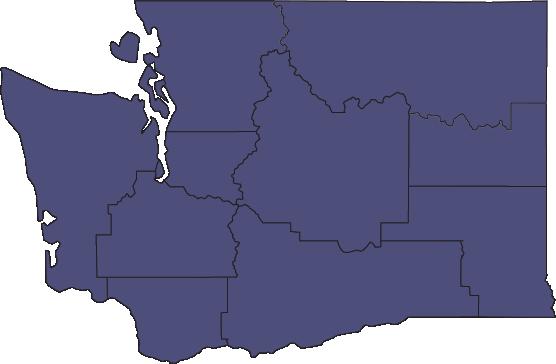 Map image of Washington